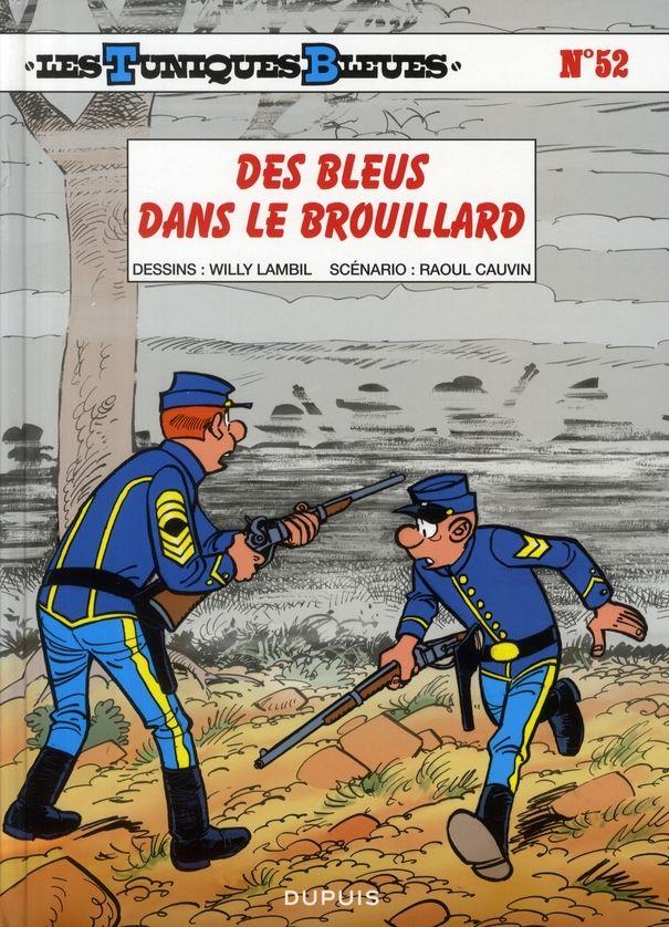 Les Tuniques Bleues T.52 ; des bleus dans le brouillard 10 Bourg-du-Bost (24)