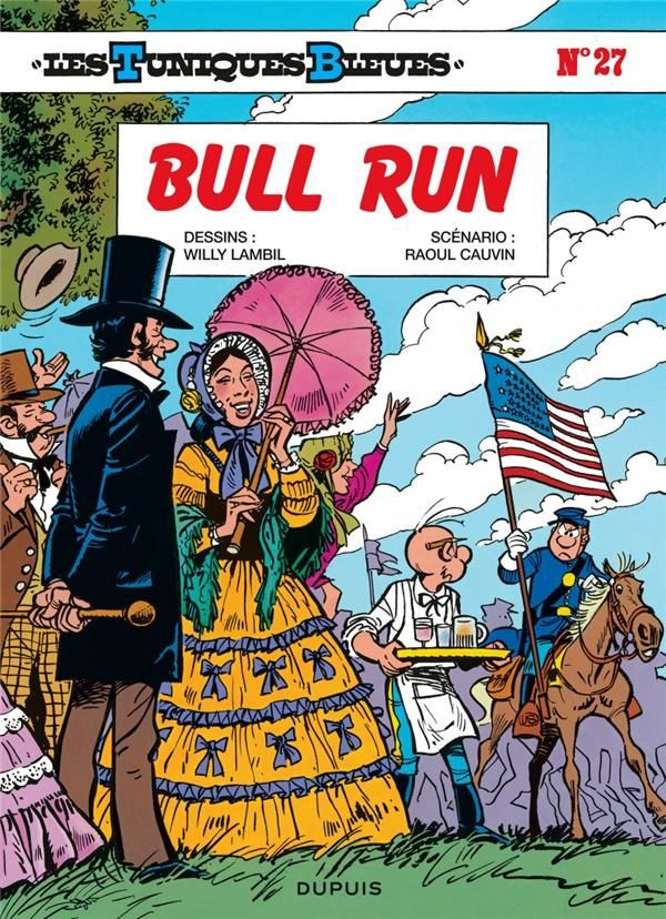 Les Tuniques Bleues T.27 ; bull run 10 Bourg-du-Bost (24)