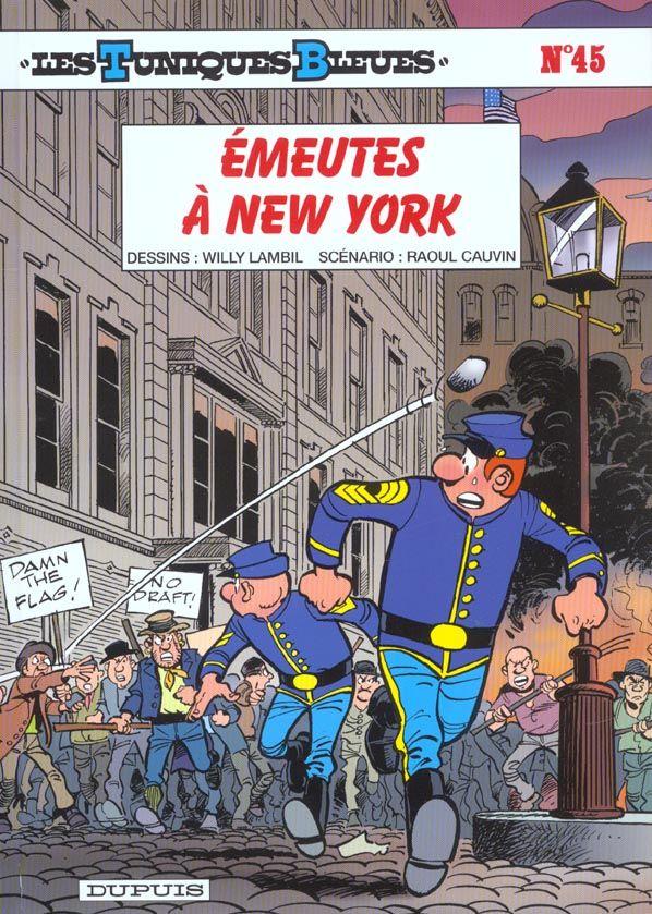 Les Tuniques Bleues T.45 ; émeutes à New York 10 Bourg-du-Bost (24)
