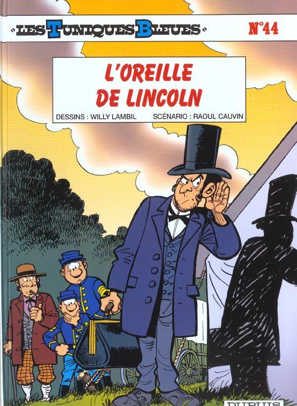 Les Tuniques Bleues T.44 ; l'oreille de Lincoln 10 Bourg-du-Bost (24)