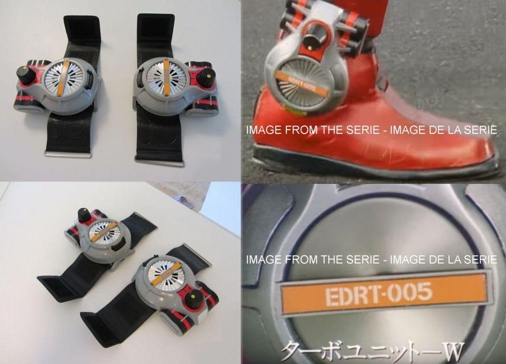 Turbo Unit W,Tokusatsu Exceedraft,Bandai 1991,import Japon 10 Saint-Ambroix (30)