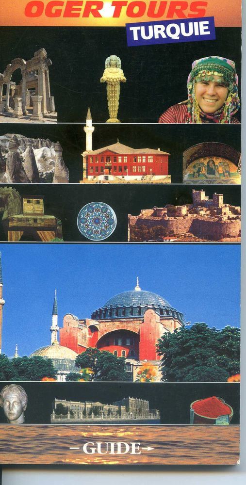 TURQUIE - Guide Oger tours,                                  3 Rennes (35)