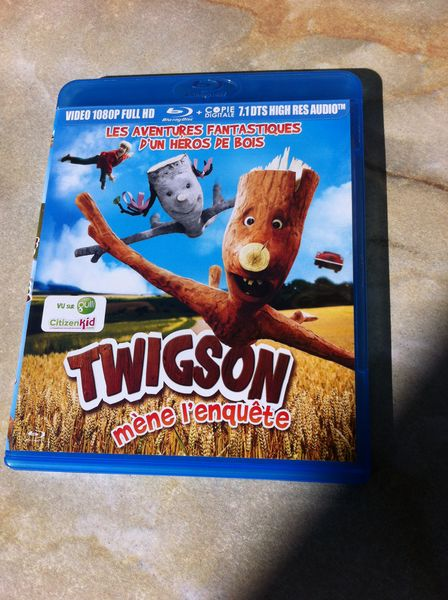 G/A DVD Blu-Ray * TwIgson mène l'enquête - CD NV DVD et blu-ray