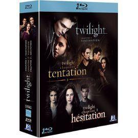 Twilight - Coffret BlueRay - Episodes 1,2,3 35 Paris 15 (75)