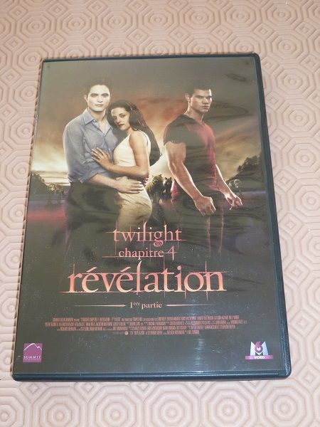 DVD Twilight film ciné révélation cullen edward be 3 Fèves (57)
