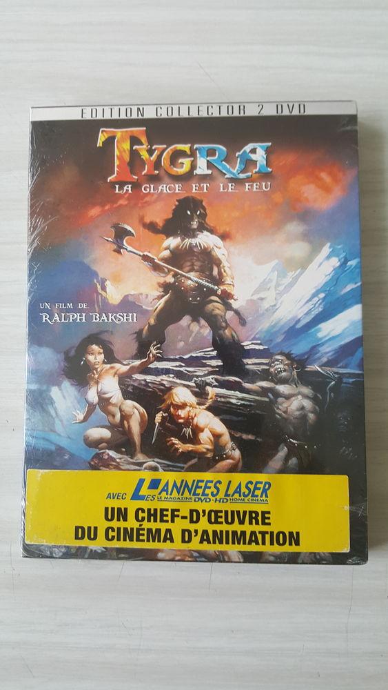 DVD TYGRA LA GLACE ET LE FEU DVD et blu-ray