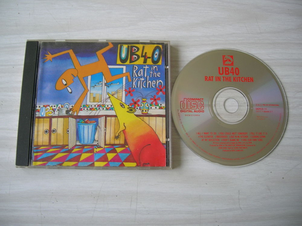 CD UB40 Rats in the kitchen 7 Nantes (44)