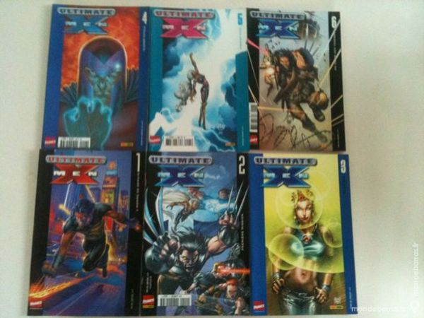 Lot «Ultimate X-Men» (Marvel) (Panini) Livres et BD