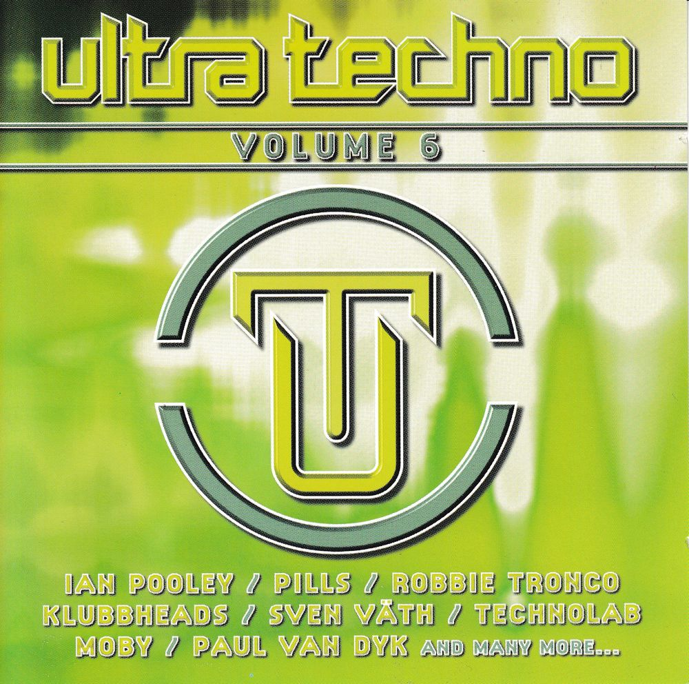 CD    Ultra Techno   -   Volume 6 8 Antony (92)