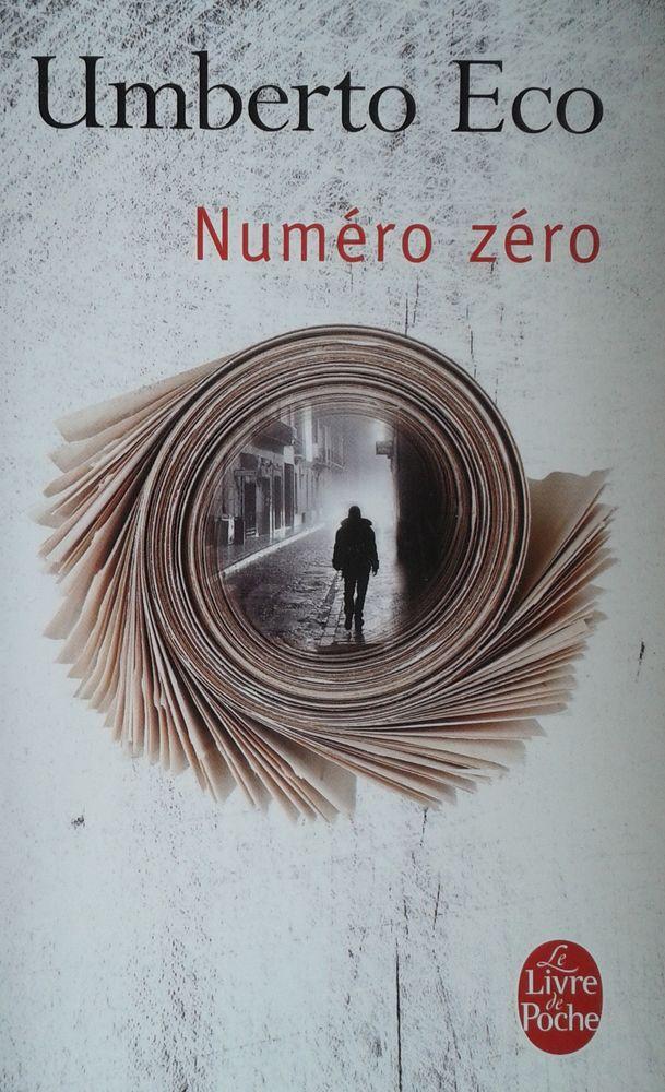 UMBERTO Eco - Numéro zéro 3 Boulogne-Billancourt (92)