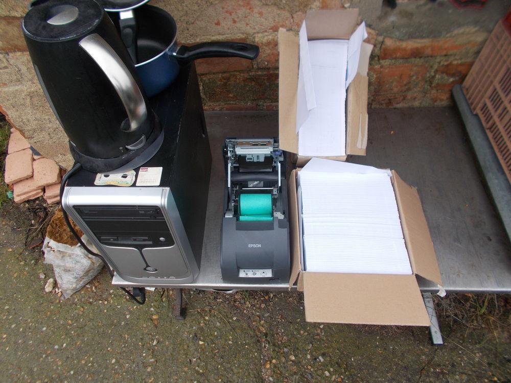 unité centrale + imprimante a ticket  faire prix  0 Saran (45)