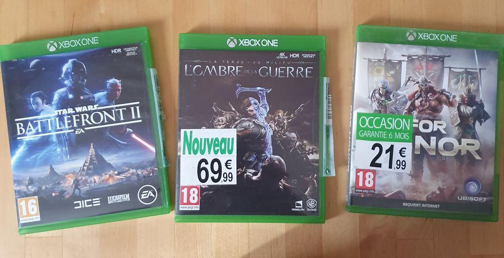lot ou à l'unité de 3 jeux xbox one 45 Paris 3 (75)