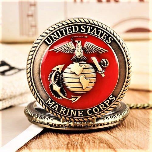 United States Marine Corps montre gousset 2014 GOC2001 85 Metz (57)