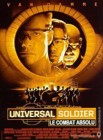 UNIVERSAL SOLDIER Le combat absolu Affiche Cinéma 30 Maisons-Alfort (94)