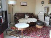 Urgent Canapé convertible cuir suite vente appartement 400 Annecy-le-Vieux (74)