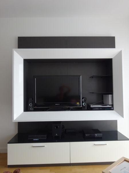 Achetez urgent meuble tv occasion annonce vente ermont 95 wb153201162 - Meuble d occasion particulier ...