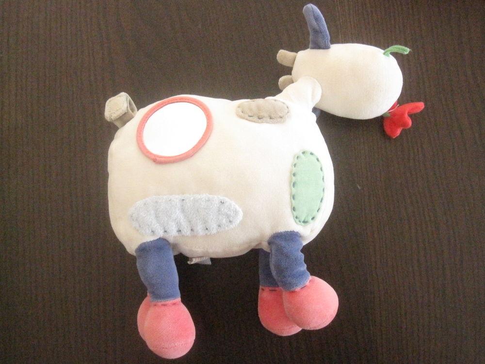 Vache jacadi patchwork 25cm Jeux / jouets