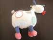 Vache jacadi patchwork 25cm