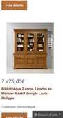Vaisselier merisier  450 Bobigny (93)