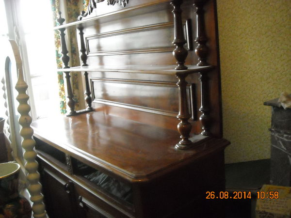 vaisselier ou meuble de séjour du 19e en acajou massif TBE 620 Coudekerque-Branche (59)