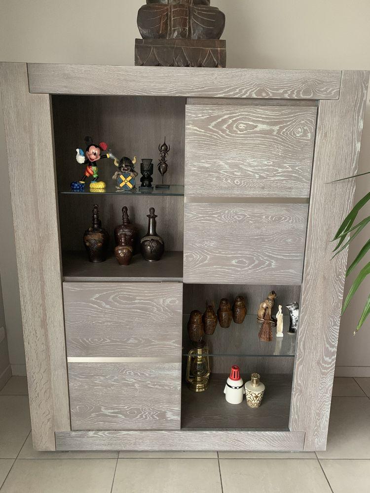 Vaisselier de salle à manger en chêne gris 350 Conches-en-Ouche (27)