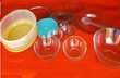 lot vaisselle transparente