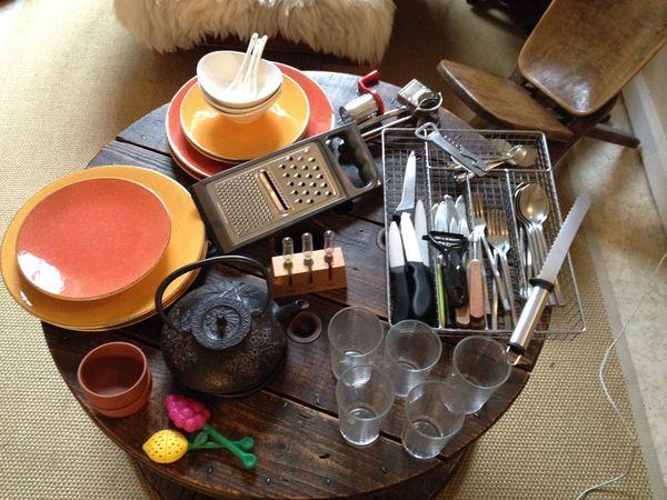 Lot de vaisselle 10 Lyon 1 (69)