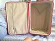 VALISE CABINE TROLLEY ROULETTES ROUGE LANCEL Maroquinerie