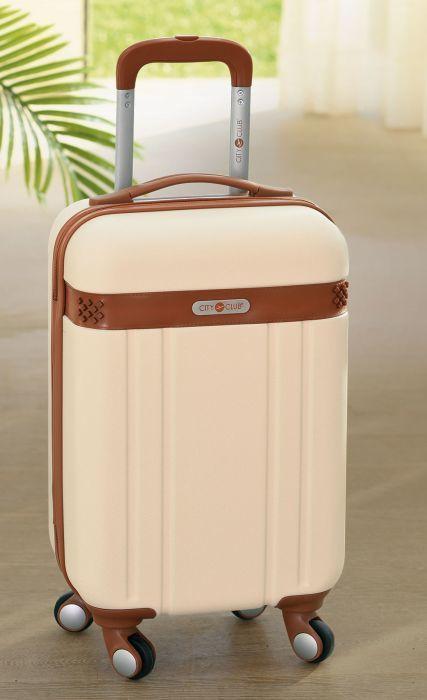 La valise rigide à roulettes de marque City Club SANOA neuve 110 Paris 16 (75)