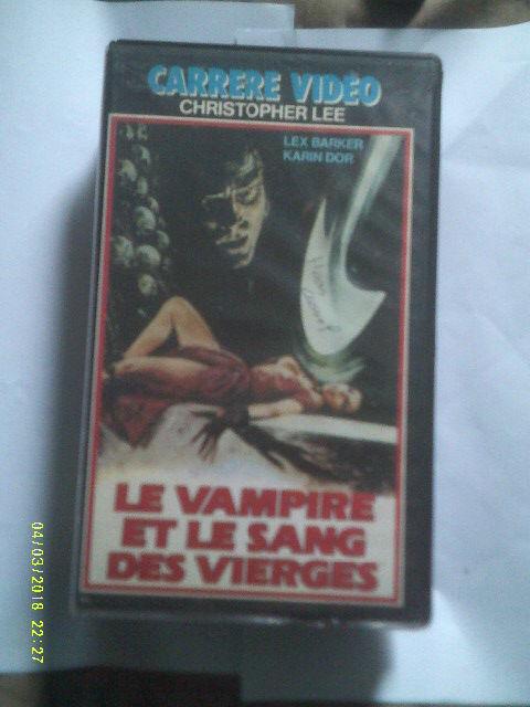 LE VAMPIRE ET LE SANG DES VIERGES avec lex Barker Karin Dor 0 Rosendael (59)