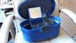 Vanity case bleu