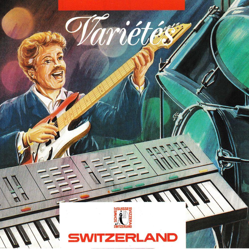 CD  Varie?te?s   Objet Publicitaire Switzerland  Compilation 6 Bagnolet (93)