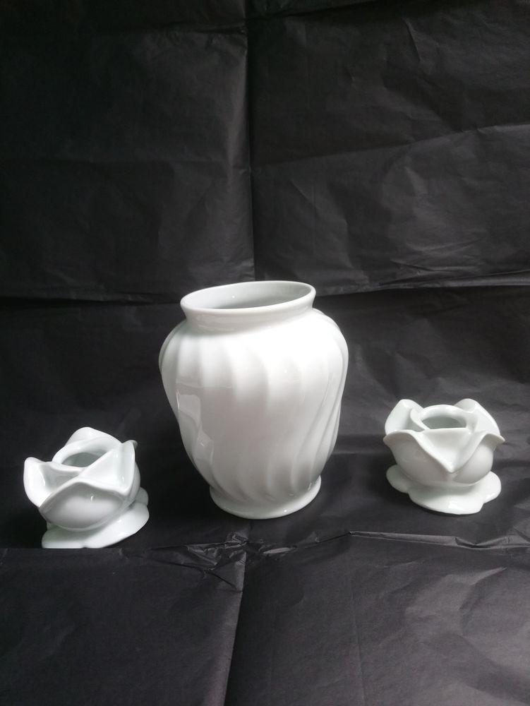 Vase et bougeoirs LIMOGES 50 Argenteuil (95)