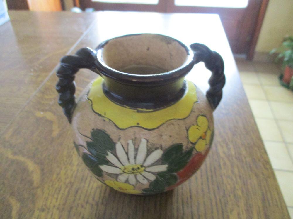 Vase céramique avec anses torsadés 9 Mérignies (59)