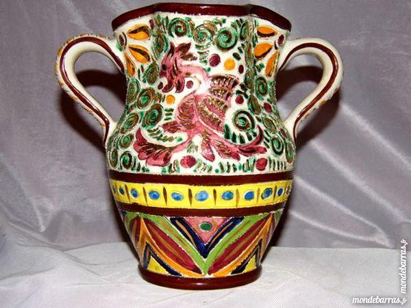 Vase céramique dragon années 50 MASSE FRERES 30 Dunkerque (59)