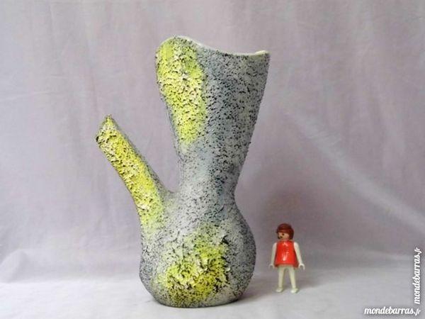 Vase céramique faience germanique années 50 retro 30 Dunkerque (59)