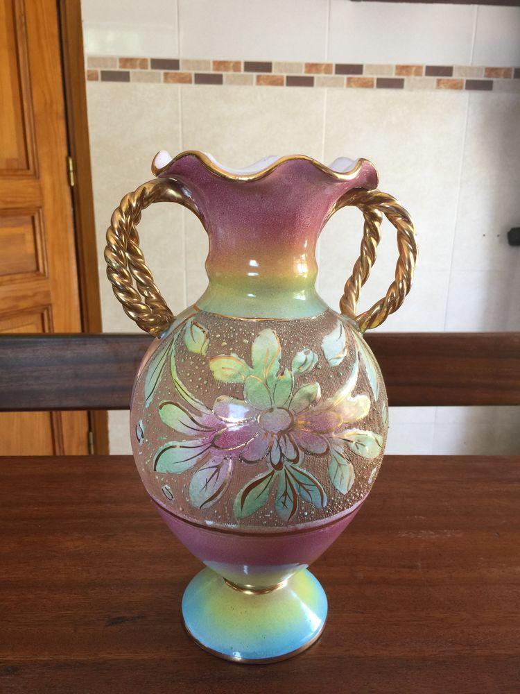 Vase céramique italienne ALLEGRANTI   Montelupo   15 Saleilles (66)