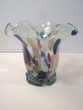 Vase Collerette en Verre de Murano Moucheté Loches (37)