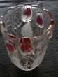 1 vase en cristal 20cms de haut