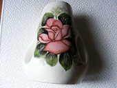 vase décoré mains de jean touret  25 Oyonnax (01)