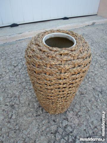 vase entoure de corde tressée 30 Amélie-les-Bains-Palalda (66)