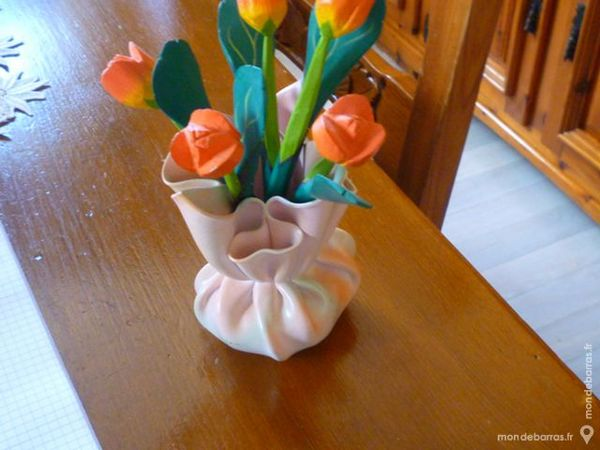 vase de fleurs en bois 15 Le Syndicat (88)