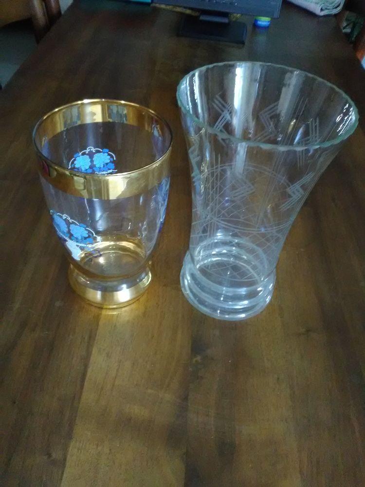 Vase à fleurs en Verre 10 Taillades (84)