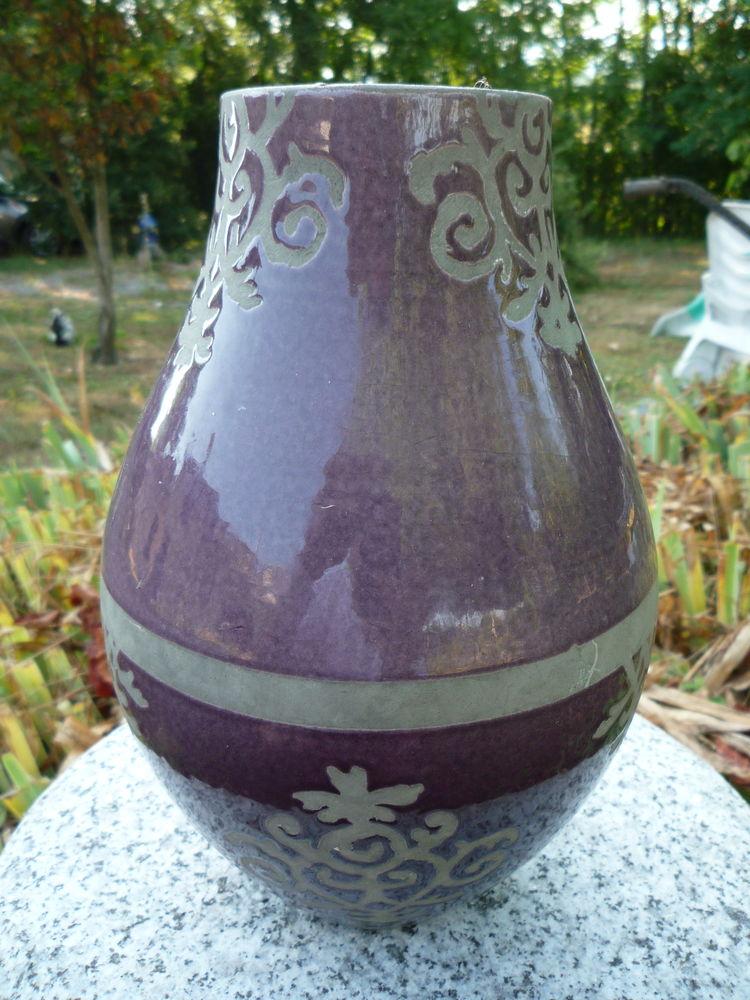 Vase grès émaillée h 25cm diamètre 17cm 25 Castres (81)