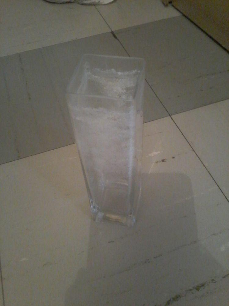 Vase en hauteur en verre  4 Tourcoing (59)