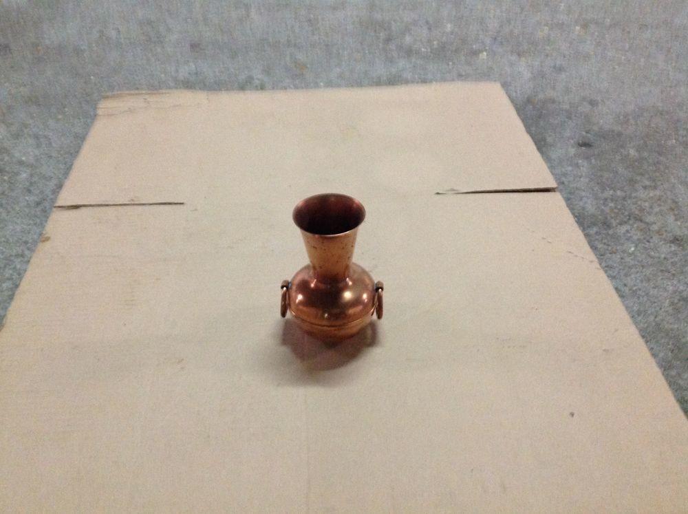 Vase laiton cuivré  10 Mantes-la-Ville (78)