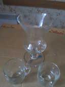 Vase Plus Verres (efigie ( Castres Tarn France) 10 Castres (81)