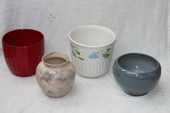 Vase porcelaine  4 Montigny-Lencoup (77)