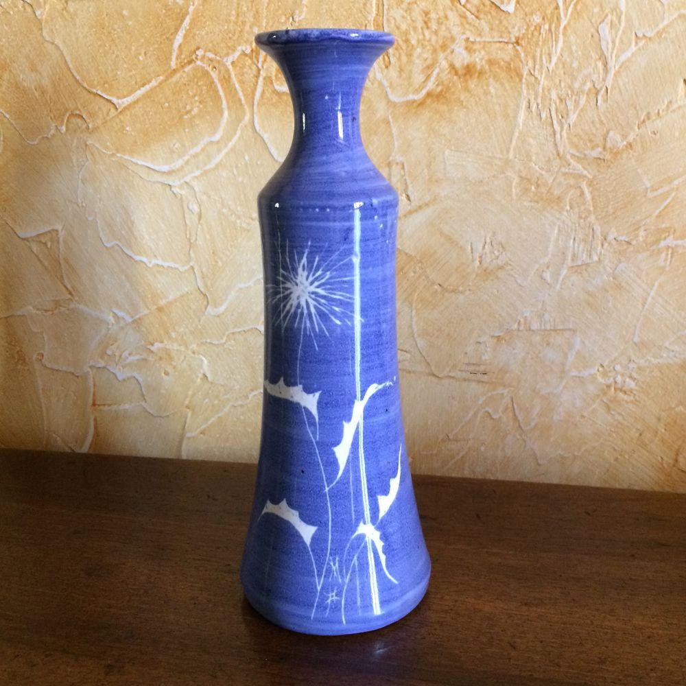 vase poterie Cogolin,peint à la main 0 Charnay (69)