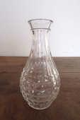 Vase en verre blanc avec motif en relief 4 Laval (53)
